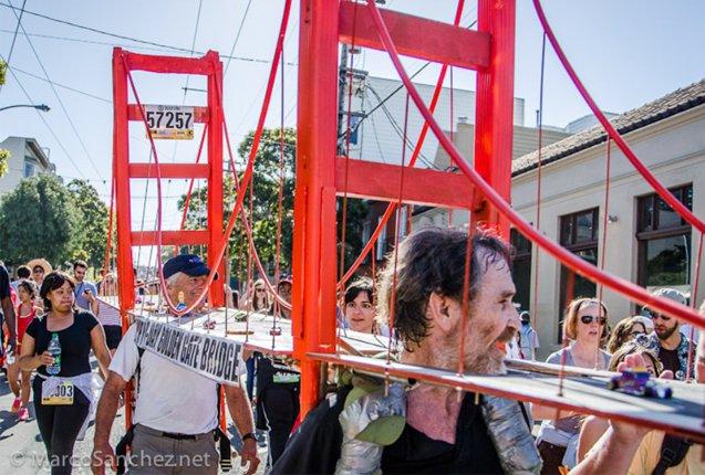 maraton de disfraces en San Francisco