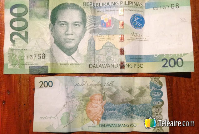 doscientos pesos filipinos