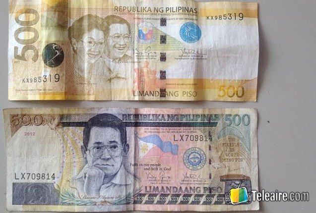 quinientos pesos filipinos