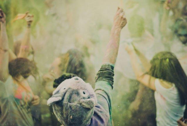 Fiesta de los colores