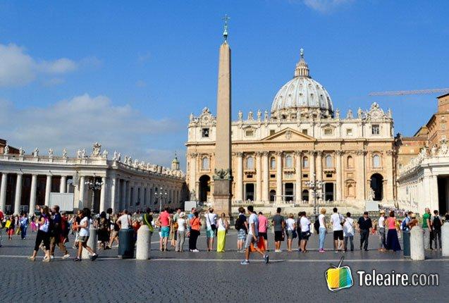 Un souvenir del Papa Francisco en el Vaticano