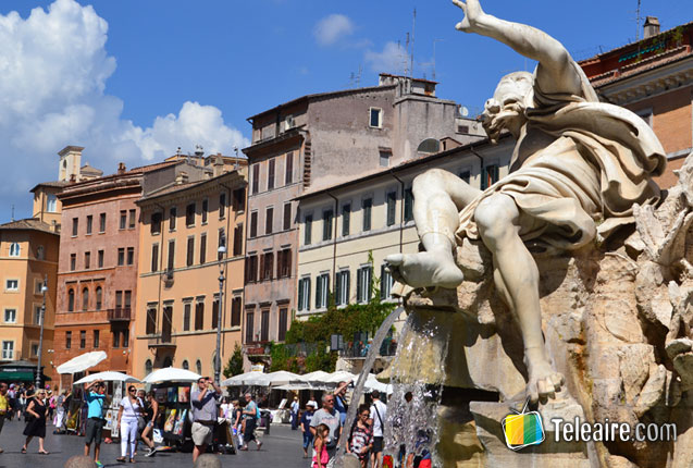 piazza barberini en roma