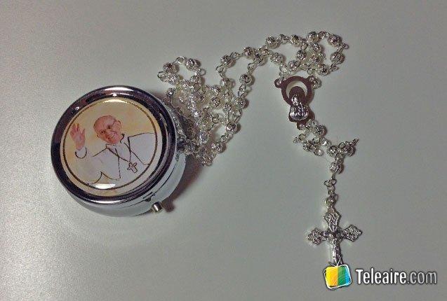 rosario del papa francisco