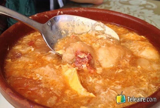 sopa de ajo de Castilla