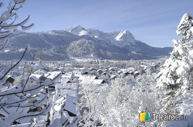 Saltos de Año Nuevo en Garmisch-Partenkirchen Alemania 3