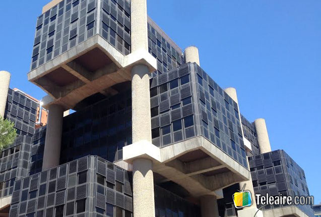 edificio de los cubos en madrid
