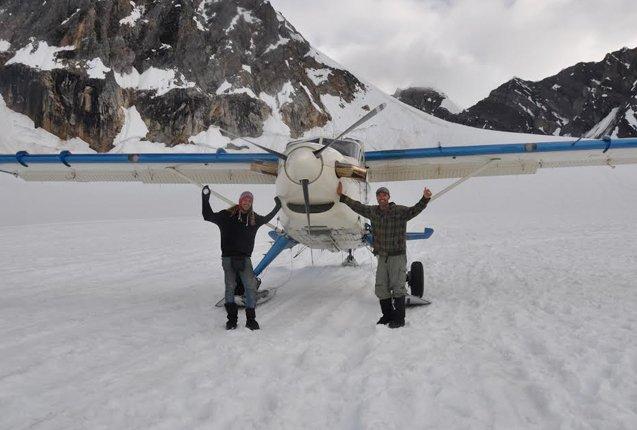 Santiago y Juan en los Andes