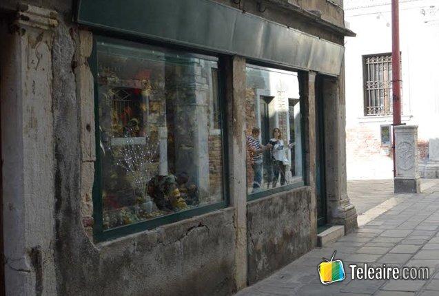 tienda de mascaras en venecia