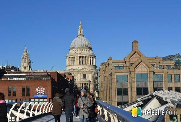 el Puente del Milenio en Londres