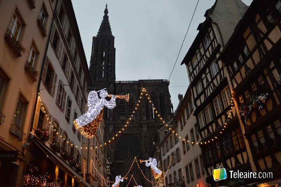 Estrasburgo, la capital de la Alsacia francesa, se convierte en diciembre en la capital de la Navidad