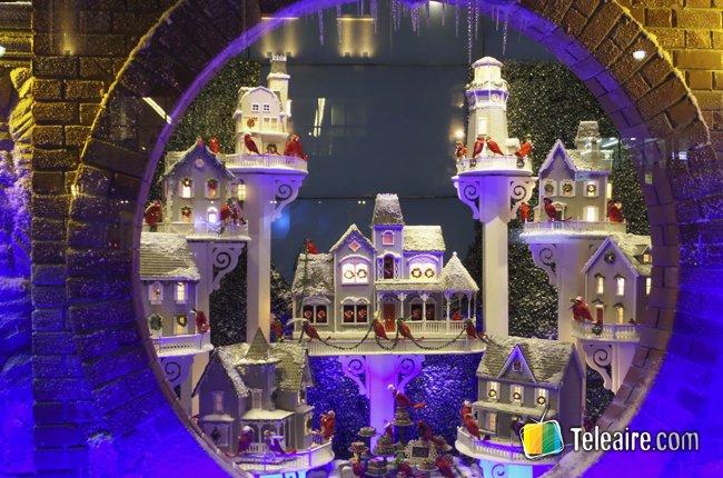 Vitrinas navideñas de Nueva York 1