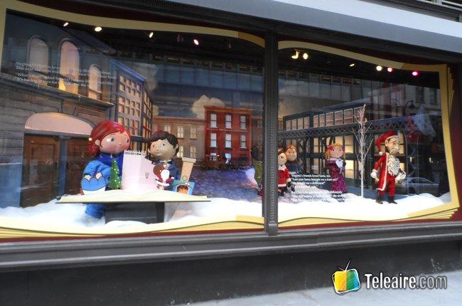 Vitrinas navideñas de Nueva York 2
