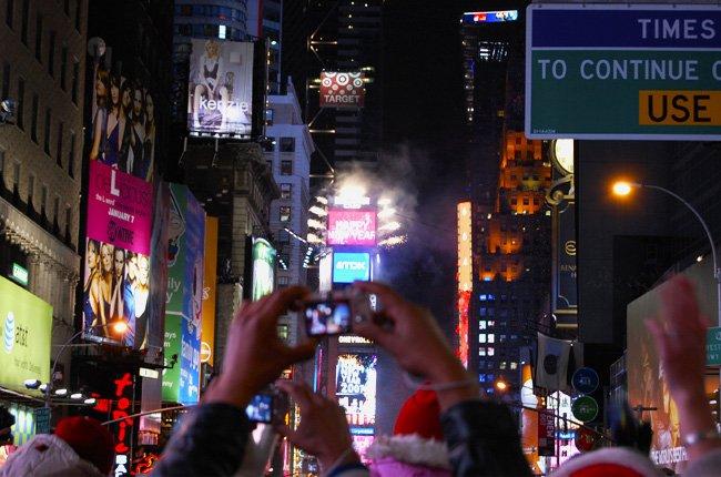 Año Nuevo Time Square New York