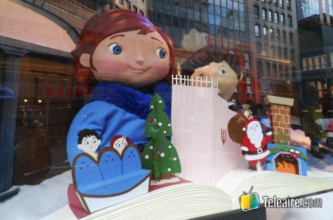 Vitrinas navideñas de Nueva York 5