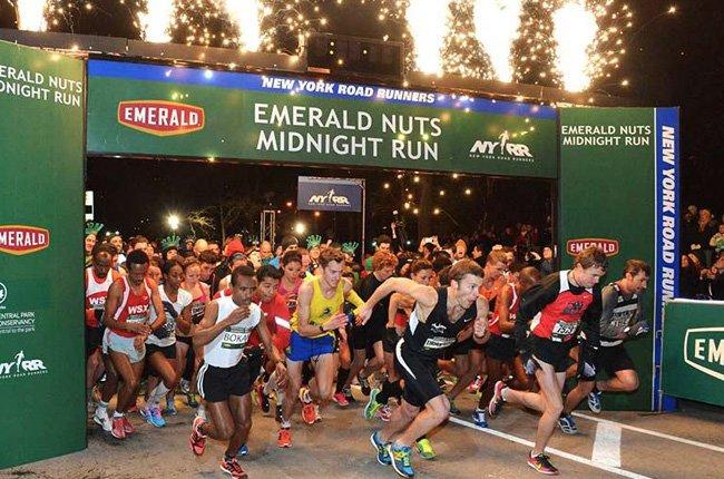 Emerald Nuts Midnight Run  Nueva York Año Nuevo
