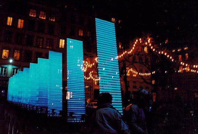 Festival de las luces en Francia