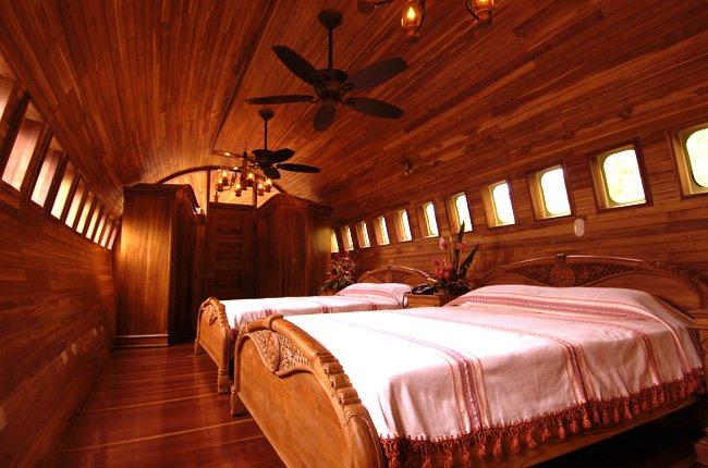 Dormir en un Jet Boeing 727 de lujo 2