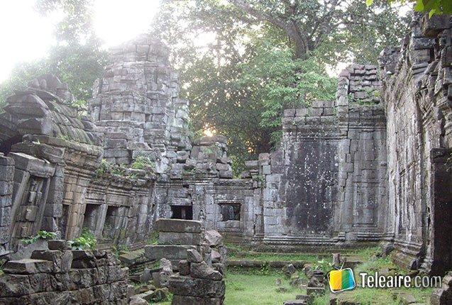 Templo Ta Prohm en Camboya