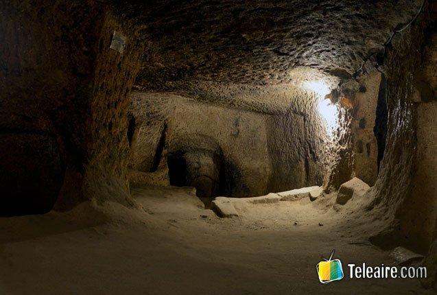 la ciudad subterranea de Derinkuyu