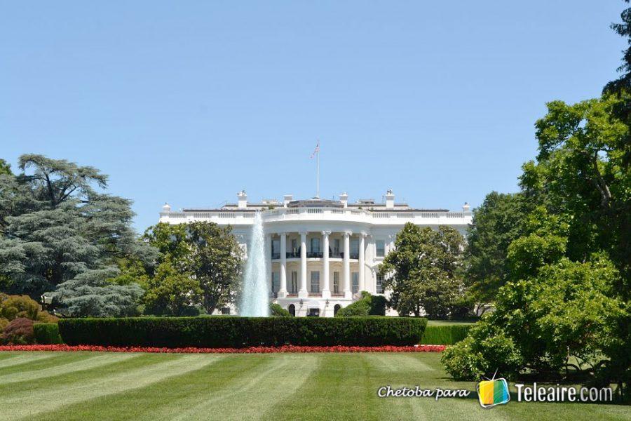 El patio de la Casa Blanca es uno de los parques más bellos de la ciudad