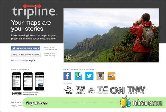 Tripline_Registro
