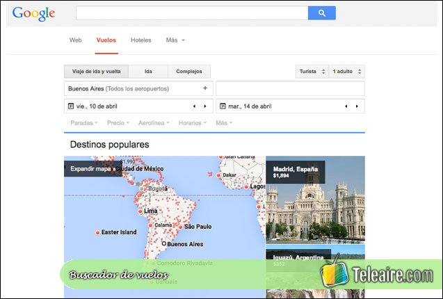 google-flight-buscador