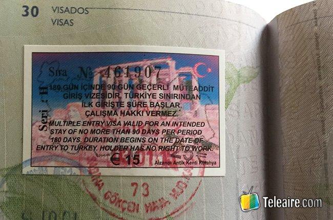 Visado-Turquia-visa