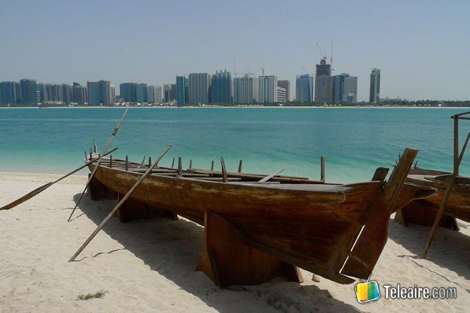 Y desde aquí se observan preciosas vistas del golfo Pérsico