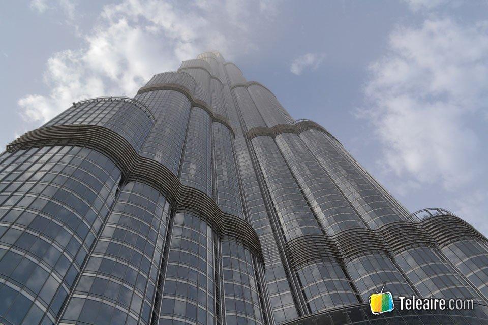 La magnífica torre Burj Khalifa es la más alta del mundo
