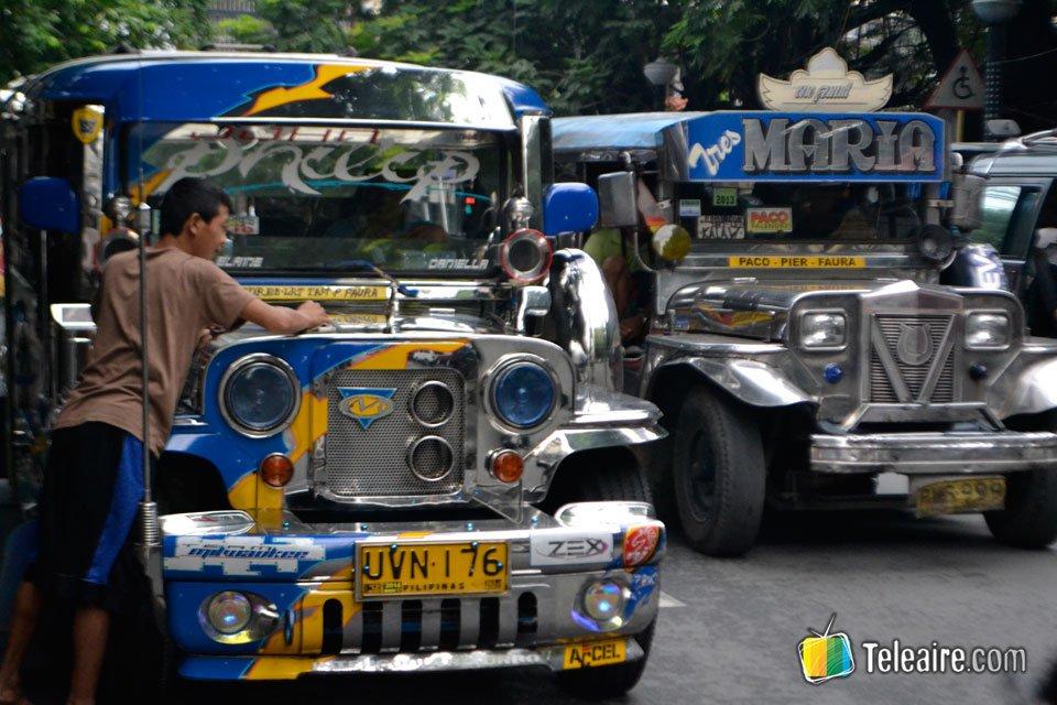 Desde los autobuses fruto de la reconversión de los jeeps americanos o jeepneys