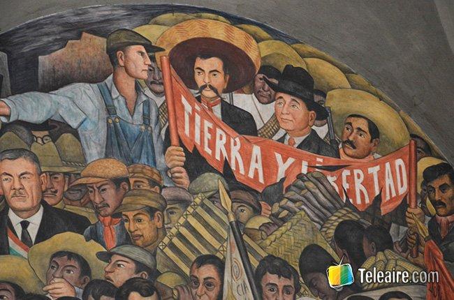 Diego Rivera-fresco.Secretaría de Educación Pública