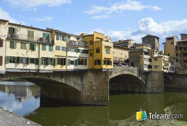 El Puente Viejo en Florencia
