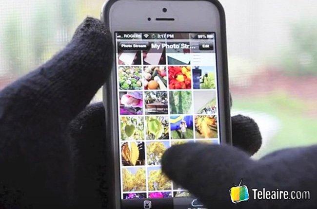 Guantes táctiles para el Smartphone