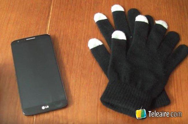 guantes táctiles -móviles