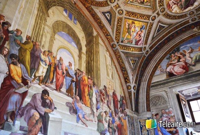 museos-vaticanos-frescos