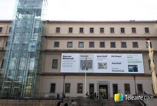 Museo Reina Sofía, otro museo gratis en Madrid para recorrer