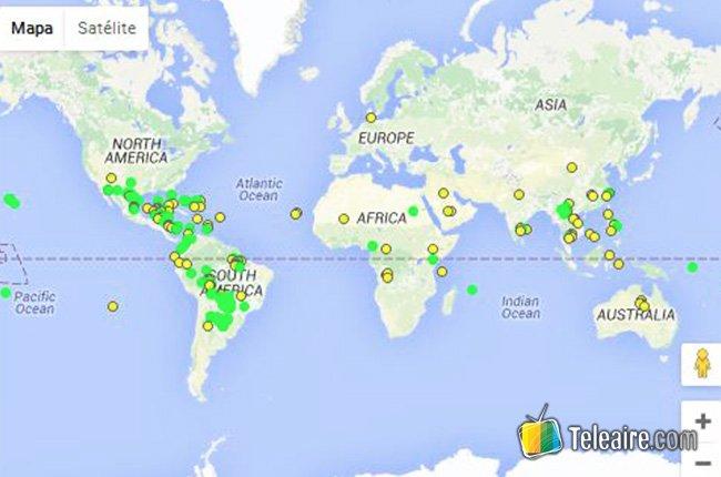 Mapa del dengue