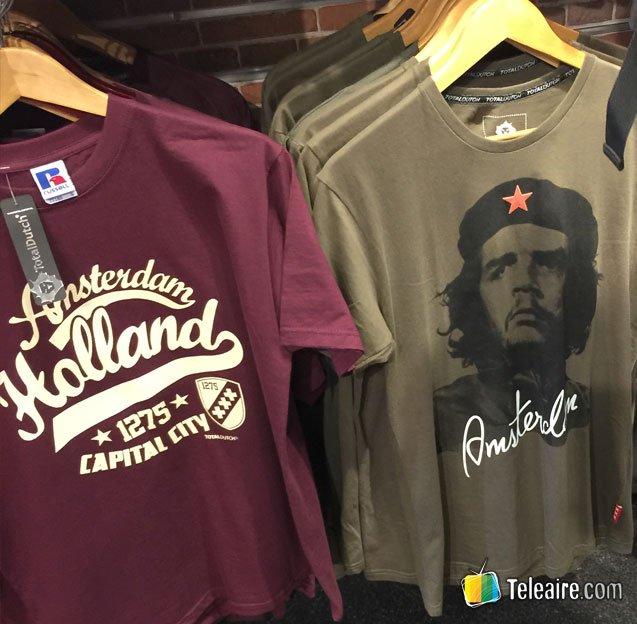 """Camisetas del """"Che"""" Guevara en Ámsterdam"""
