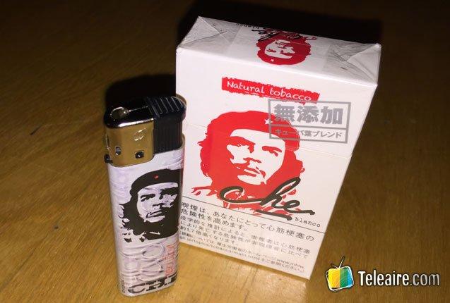 """Cigarrillos del """"Che"""" Guevara en Japón"""