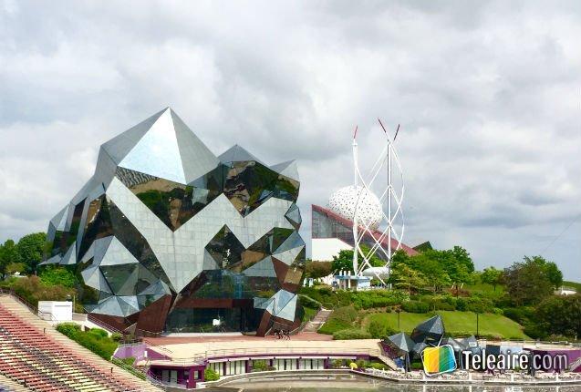 Parque Futuroscope en Francia