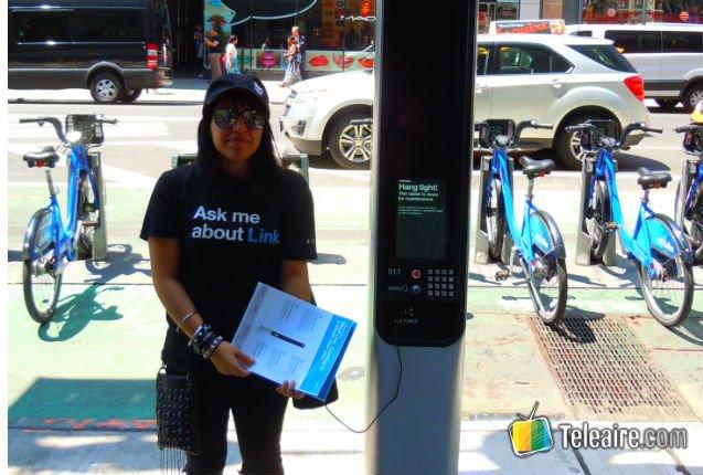 Link, la nueva cabina telefónica de Nueva York