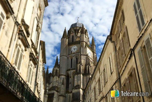 Abadía en Saintes, Francia