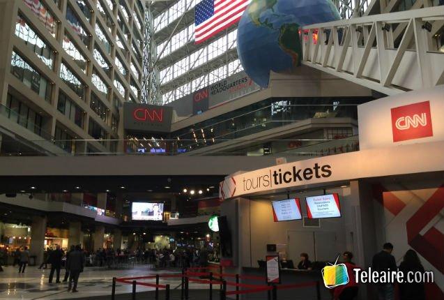 Estudios CNN en Atlanta, Estados Unidos