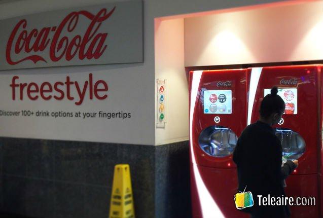 Surtidor de Coca-Cola en el metro de Atlanta