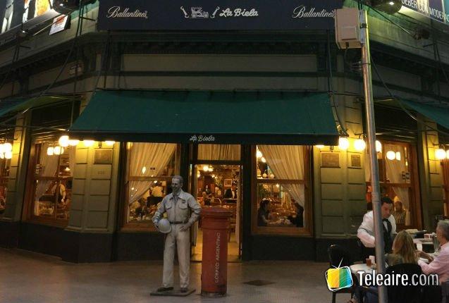 Café histórico de Buenos Aires