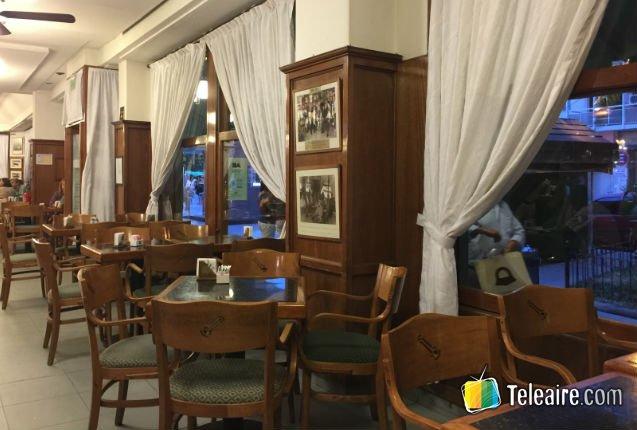 Café histórico en Argentina