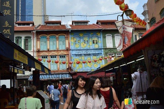 Barrios de Singapur