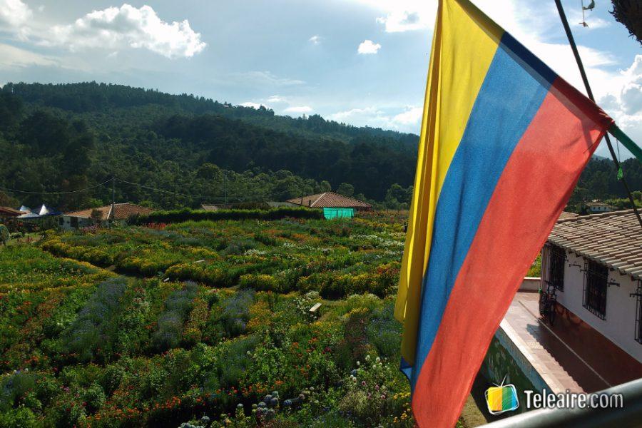 Finca silletera en Santa Elena, Departamento de Antioquia.