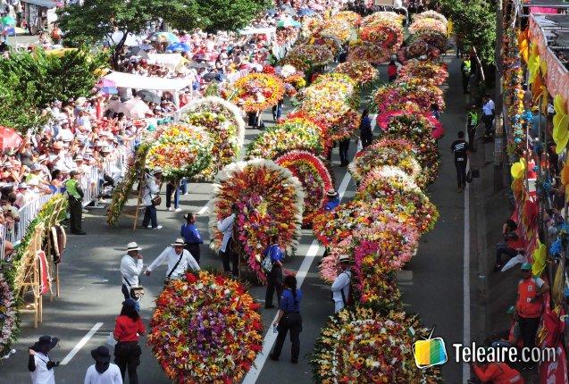 Desfile de silleteros 2017 categoria monumental