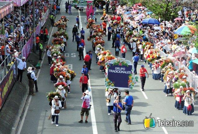 Feria de las flores desfile silleteros tradicionales